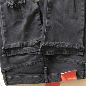 NWT Mossimo Black Jeans Size 6
